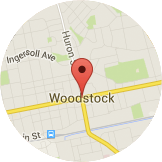 Map Woodstock